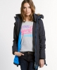 Superdry Polar Wind Parka Coat Dark Grey