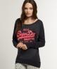 Superdry Vintage Burnout T-shirt Black