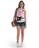 Superdry Low Slung Punk T-shirt White