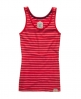 Superdry Stripey Classic Tank Red