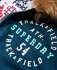 Superdry Track & Field Super Track Zip Hoodie Green