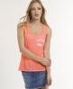 Superdry Burnout Vest Top Pink