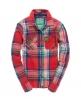 Superdry Lumberjack Patch Shirt Red