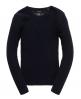 Superdry Luxe Mini Cable Pullover Marineblau