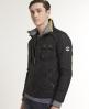 Superdry Nylon Quilt Jacket Black