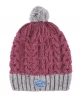 Superdry Nep Cable Beanie Pink