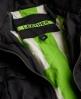 Superdry Megan Track Slim Leather Jacket Black