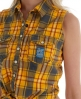 Superdry Twill Trailer Tie Shirt Yellow