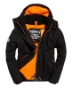 Superdry Giacca a vento Pop Zip Hooded Arctic. Nero