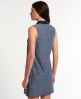 Superdry Preppy Shift Contrast Dress Blue