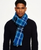 Superdry Capital Scarf  Blue