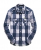 Superdry Boxy Gingham Shirt Navy