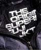Superdry Cazadora con capucha Box Quilt Fuji Gris Oscuro