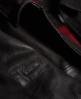 Superdry IE Leather Quilted Flight Bomberjacke  Schwarz