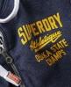 Superdry Osaka State Zip Hoodie Navy