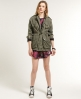 Superdry Silk Route Parka Green