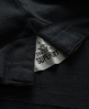 Superdry Twist Yarn Pique Polo Black