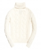Superdry Esmay Cable Knit Jumper Cream