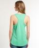 Superdry Trackster Vest Top Green