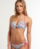 Superdry Super Up Bikini Top White
