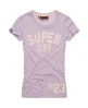 Superdry Coaching 23 T-shirt Purple