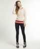 Superdry Cable Aero Knit Jumper Cream