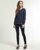 Superdry Shore Twist Sweater Navy