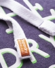 Superdry Co Jpn Hoodie Purple