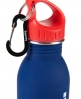 Superdry Steel Sports Bottle Navy
