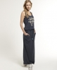 Superdry Worn Wash Maxi Dress Navy