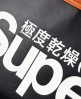 Superdry Tricolour Racket Tote Black