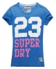 Superdry 23 T-shirt Blue