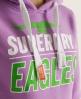 Superdry Red Eagle Hoodie Purple