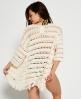 Superdry Island Tassel Kimono Ivory