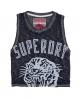 Superdry Tiger Athletique Vest Navy