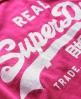 Superdry Vintage Logo T-shirt Pink