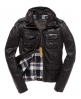 Superdry Ramona Check Leather Brown