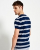 Superdry IE Refined Striped T-shirt Blue