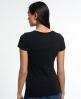Superdry Trackster Kiss Print T-Shirt Schwarz