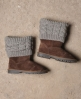 Superdry Sox Boot Brown