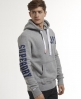 Superdry Road Runner Hoodie Grey