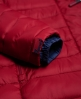 Superdry Fuji jack met capuchon en dubbele rits Rood