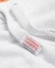 Superdry Orange Label Moody Jogginghose Weiß