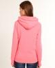 Superdry Neon Kiss Entry Hoodie Pink