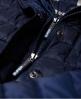 Superdry Veste à capuche à double zip Luxe Fuji Bleu Marine