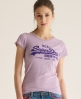 Superdry Vintage T-shirt Purple