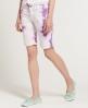 Superdry Tie Dye Bermuda Shorts Purple