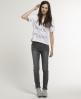 Superdry Standard Skinny Jeans Dark Grey