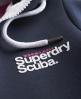 Superdry Scuba Hoodie Navy