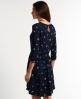 Superdry Fall Print Tunic Dress Navy